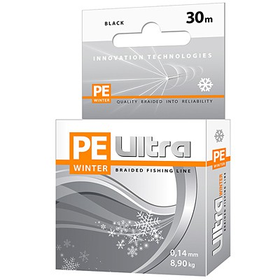 Шнур плетеный PE Ultra Winter 30м