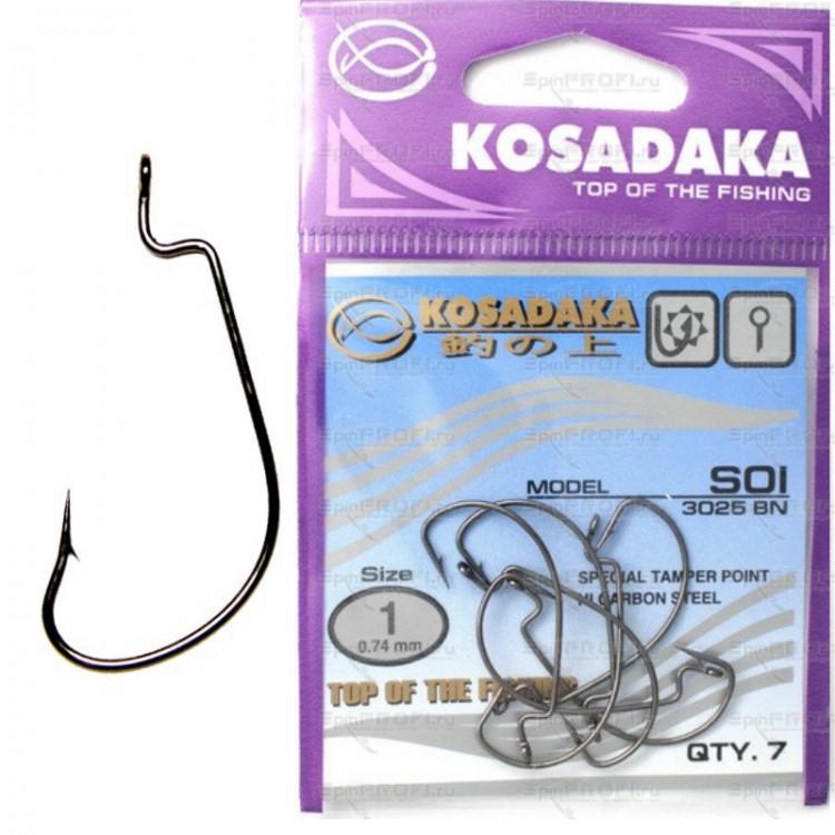 купить офсетные крючки kosadaka