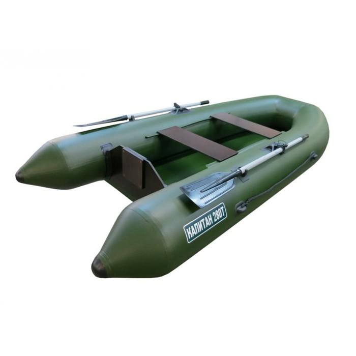 лодка капитан пвх 280т