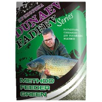 Прикорм Dunaev Fadeev Feeder Method Green 1кг
