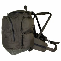 Рюкзак TRAMP Forest green с сиденьем 40л